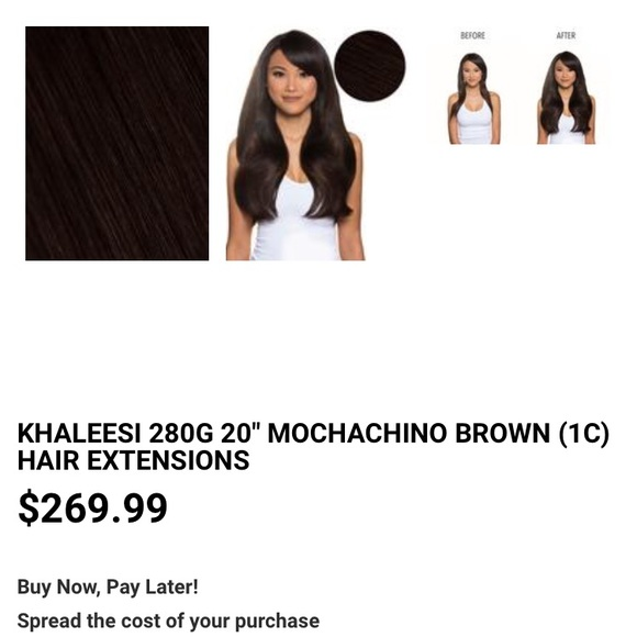 Bellami Accessories - NEW Bellami mocha chino khaleesi extensions 1c3d0d6496